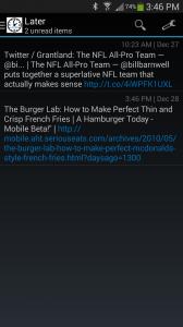 Later Screenshot - Unread